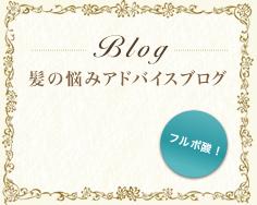 髪の悩みアドバイスブログ